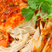 Cilantro Lime Slow Cooker Chicken
