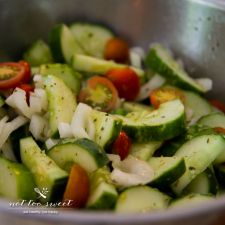 Cucumber and Cherry Tomato Salad