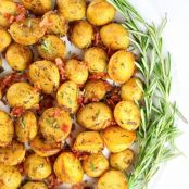 Smoky Salt and Vinegar Roasted Potatoes