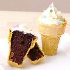 Ice Cream Cake Cones