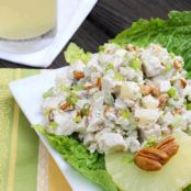 Chicken Salad Pineapple-Pecan