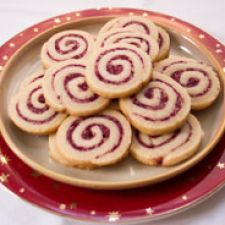 Cranberry Walnut Swirl Cookie Recipe