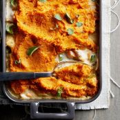 Sweet Potato-Topped Turkey Pot Pie