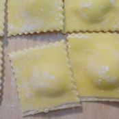 Homemade Three Cheese Ravioli