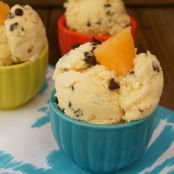 Sugar Kiss Melon Chocolate Chip Ice Cream Recipe