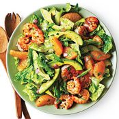 Shrimp, Avocado, and Mandarin Orange Salad