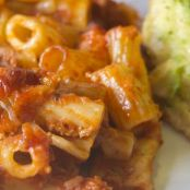 Rigatoni With Beef Ragu