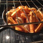Sweet Potatoes- Roasted