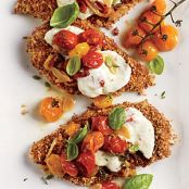 Chicken Parmesan with Oven-Roasted Tomato Sauce