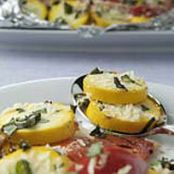 Yellow Squash, Tomato & Onion Packets