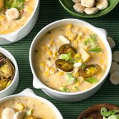 Corn Chowder with Jalapenos