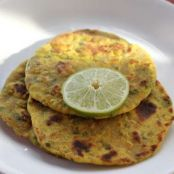 Missy Roti – Golden Flatbreads with Onion, Cilantro and Thyme