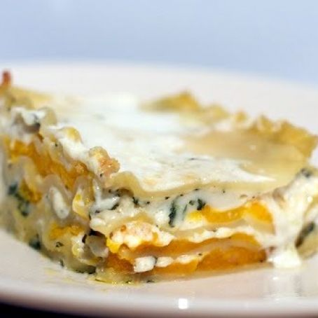 Squash and Chestnut Lasagna