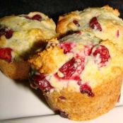 Cranberry Orange Muffins-Dunkin Donuts Copycat