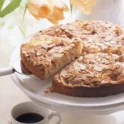 Peach and Almond Coffee Cake
