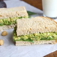 Sandwich - Smashed Chickpea & Avocado Salad