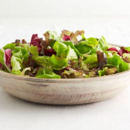 Green Salad with Shallot Dressing