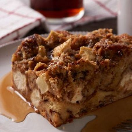 Apple Cinnamon Roll Bread Pudding (David Venable QVC)