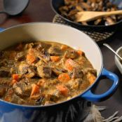 Dijon and Cognac Beef Stew