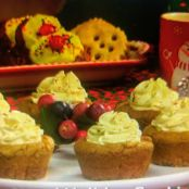 Mrs. Claus' Holiday Cookie Cups