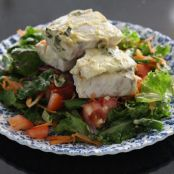 BAKED BARRAMUNDI with MUSTARD & LEMON