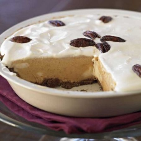 Pumpkin Ice-Cream Pie