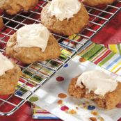 Brown Sugar Applesauce Cookies