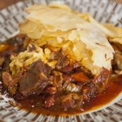 Texan Chilli Beef and Bean Filo Pie