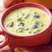 Broccoli Potato Cheese Soup