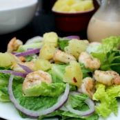 Spicy Shrimp Salad with Spiced Fruit Dressing