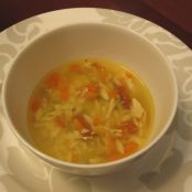 Chicken Vegetable Soup with Herbs