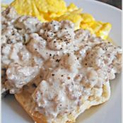 Pretty Damn Amazing Biscuits with Sausage Gravy