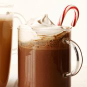 Adult Peppermint Hot Chocolate