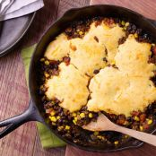 Crusty Cornbread Chili
