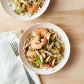 Slow-Cooker Smoked Chicken and Shrimp