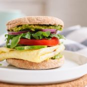 Avocado & Egg English Muffin