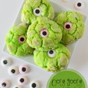 Gooey Monster Eye Cookies