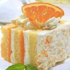 Orange Dreamsicle Cake