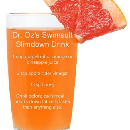 Dr  Oz's Swimsuit Slimdown Drink Recipe - (3 9/5)