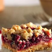 Paleo Cranberry Bars