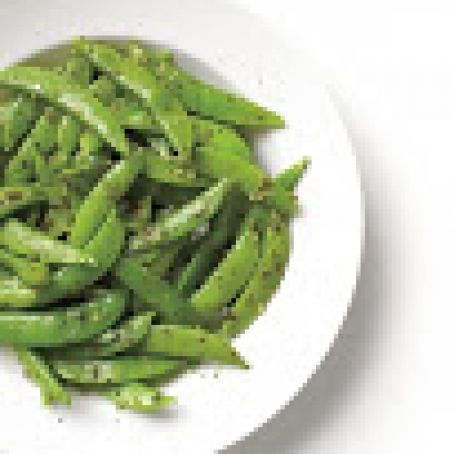 Pesto Snap Peas