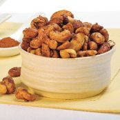 Light Candied Spiced Mixed Nuts