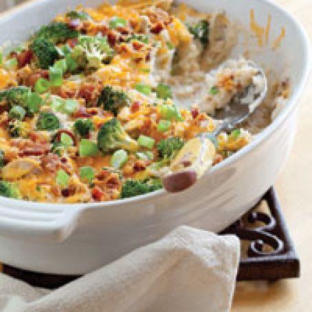 Loaded Baked Potato Casserole (Paula Deen) Recipe - (4.4/5)