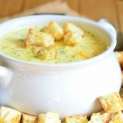 Asiago Broccoli Cheese Soup