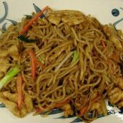 Spicy Chicken Lo Mein