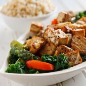 Tofu: Thai Black Pepper and Garlic Tofu
