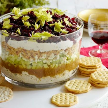 7-Layer Cranberry Cobb Dip