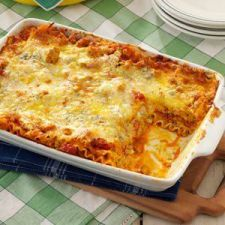 Buffalo Chicken Lasagna