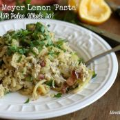 Crab & Meyer Lemon 'Pasta'
