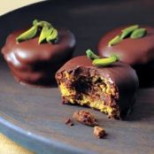 Chocolate-Pistachio Cookies